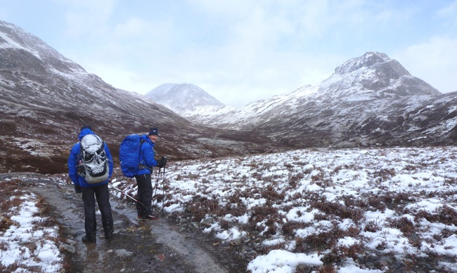 PHIL'S PIC OF ANDY & ME & LAIRIG LEACACH