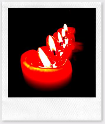 Röda ljus