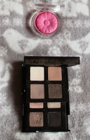 Bobbi-Brown-Smokey-Nudes-palette,Clinque-CheekPops-Plum-Pop