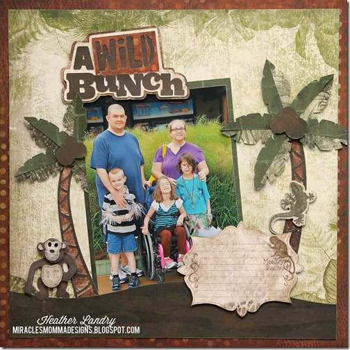 Heather Landry_A Wild Bunch_Animal Kingdom_Disney Scrapbook