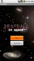 Screenshot of DropBall in Space!