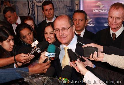 O Governador, Gerlado Alckmin, lança Campanha de Prevenção ao Bullying nas Escolas Estaduais.