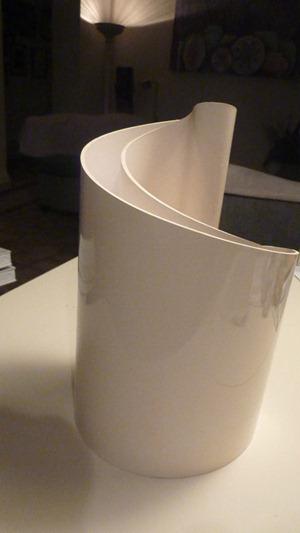 White Deda vase