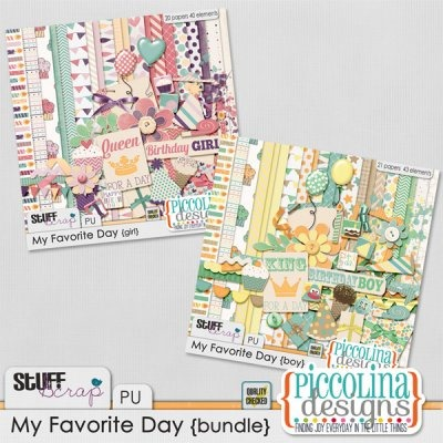 My Favorite Day  - Bundle