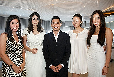 Pantene Nature Care hair launch with hair scientists and panelists at 1 Altitude Singapore