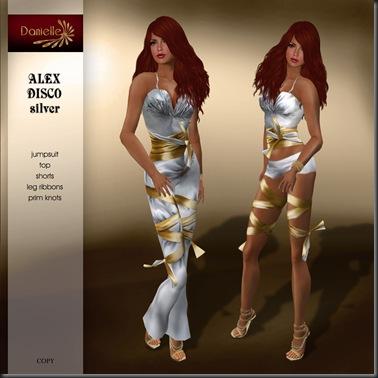 DANIELLE Alex Disco Silver'