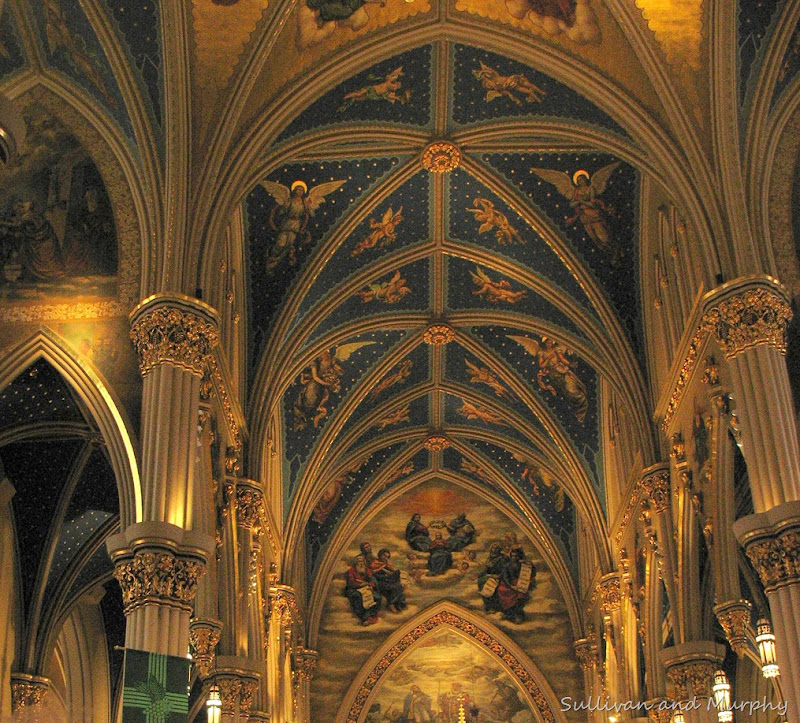 basilica at Notre Dame