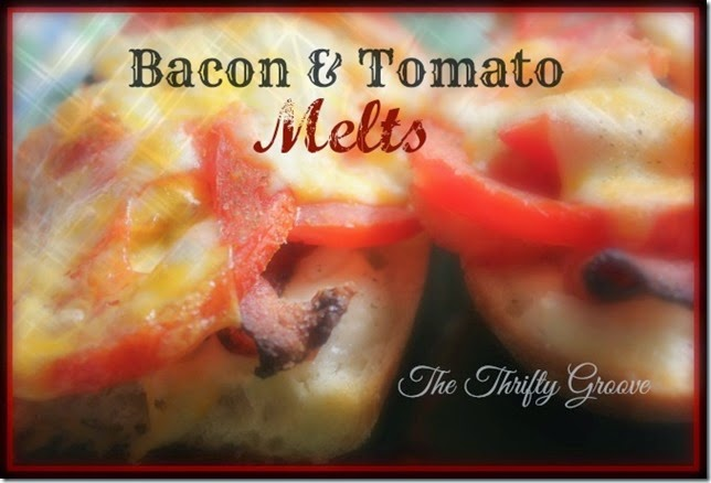 Bacon and Tomato Melts