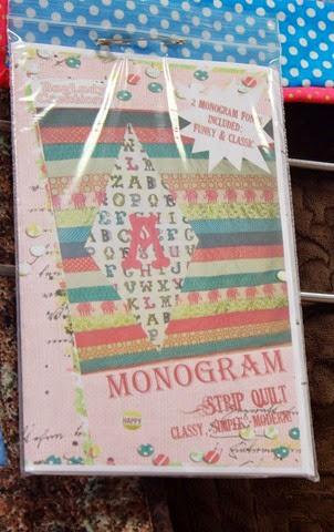 Monogram quilt pattern