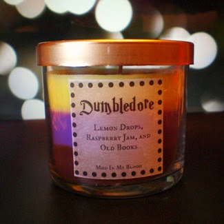 Dumbledore Scented Candle from Mud in My Blood