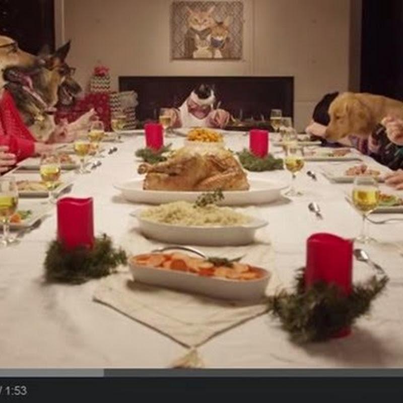 Γιορτινό τραπέζι με ζώα