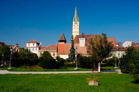 Obiective turistice Romania: Turnul Trompetilor Medias