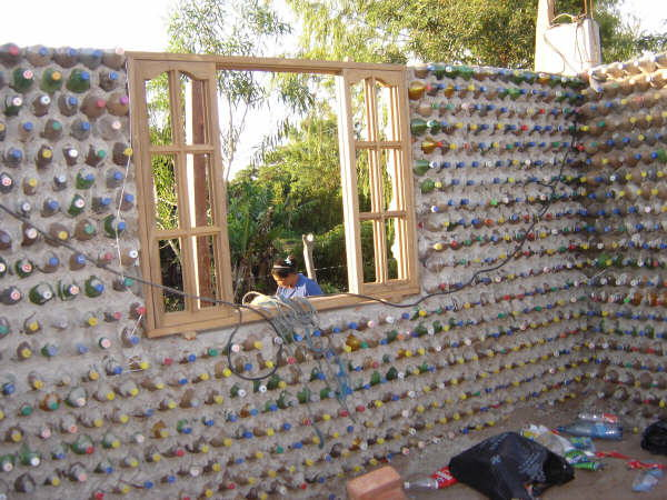 House made of bottle