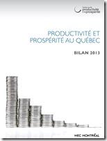 Productivité et propérité au Québec