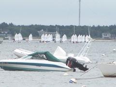 Sailing regatta 7.30.12 boats far out waiting