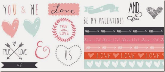 san valentino - carte tag gratis - free download valentine papers - scrapbooking 3