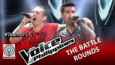 The Voice PH 2 Battles - Bradley vs Jason
