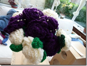 Crochet Flower Bouquets (25)