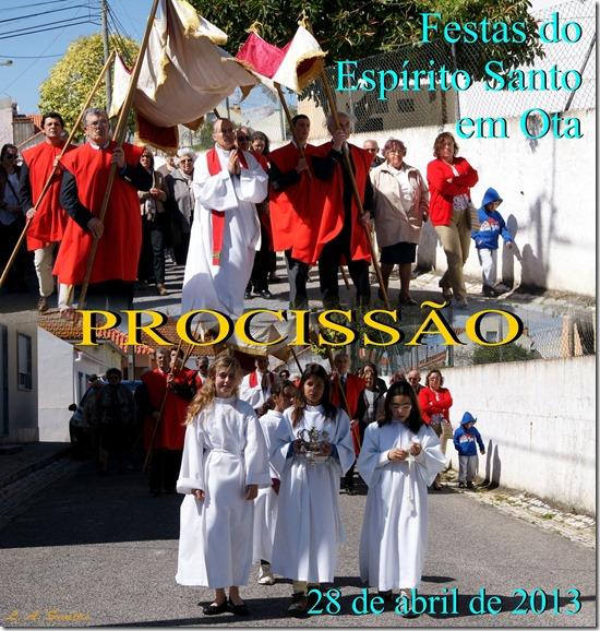 Festas Esp. Santo em Ota - Procissão - 28.04.13