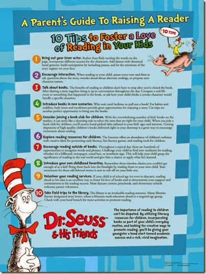 Raise a Reader-Dr-Seuss-Parent-Poster