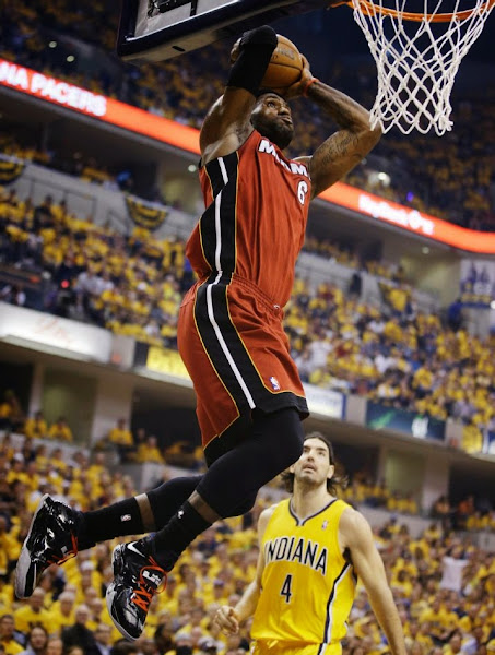 lebron james nba 140518 mia at ind 03 game 1 Balanced Pacers Drop LeBron and the Heat in Series Opener