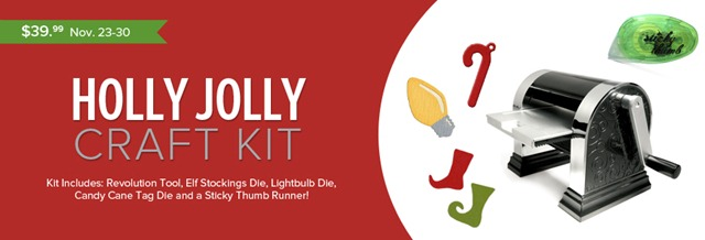 Holly Jolly Craft Kit Web Banner