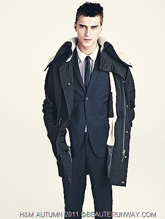 H&M Autumn 2011 Singapore Men Jacket Shirt