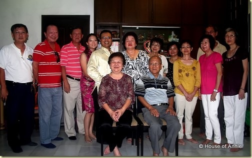 Penang Wedding Tea Ceremony - Family Portrait