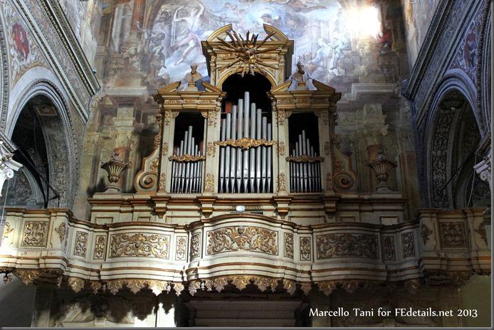 Marcello Tani for FEdetails.net - Santa Maria in Vado, Organo Monumentale, Ferrara - Inside Santa Maria in Vado, Monumental Organ, Ferrara, Italy