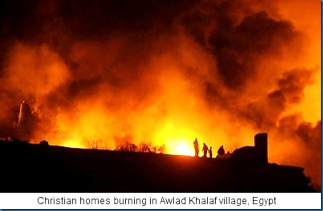 Muslims Torch Christian Homes