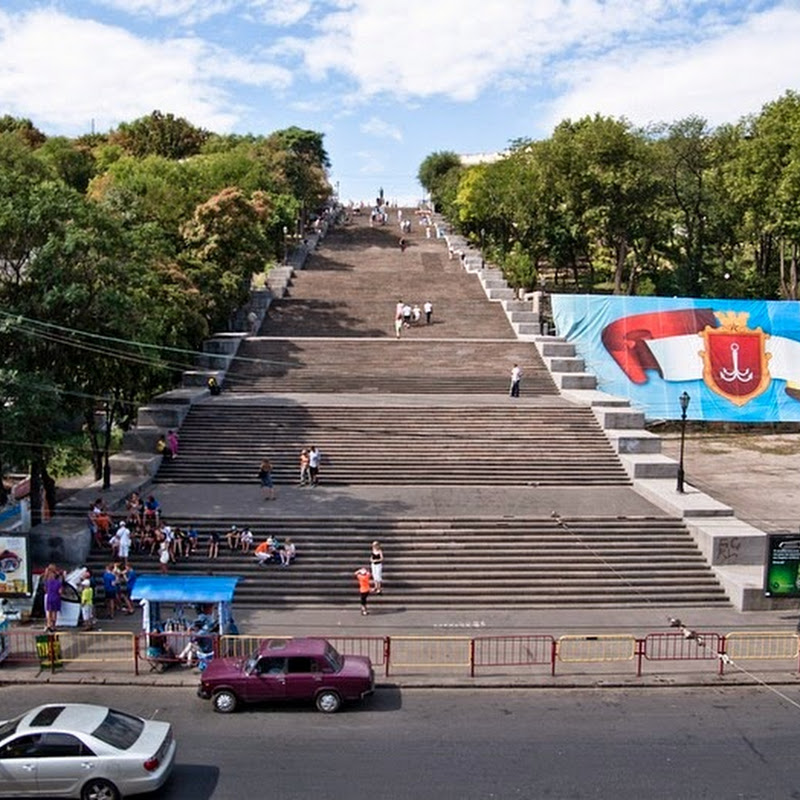 Potemkin Stairs, Odessa