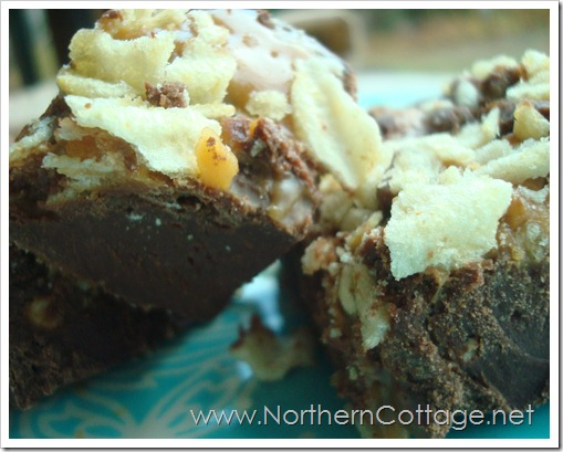 Caramel Potato Chip Fudge @ Northern Cottage.net
