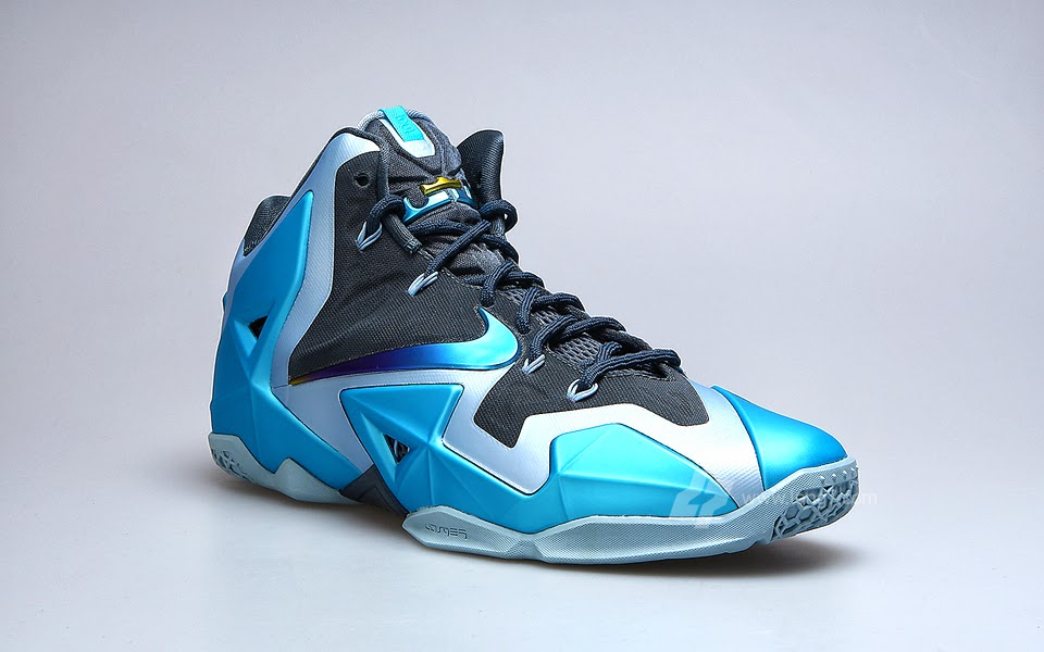 Beauty Shots // Nike LeBron XI (11) Armory & Gamma Blue ...
