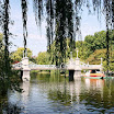 Boston Public Garden Suspension Bridge