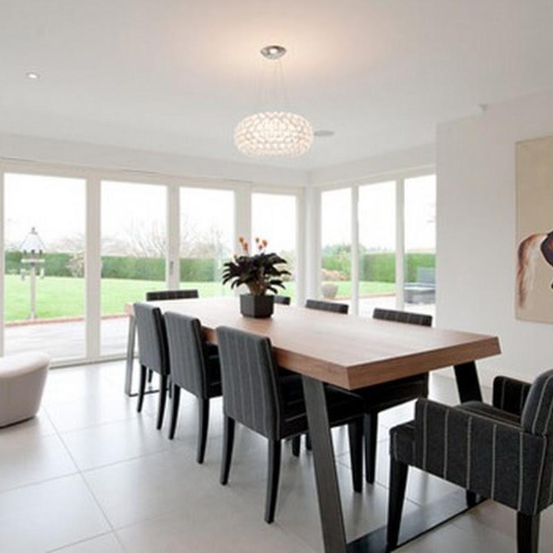 15 ejemplos de c mo dise ar el comedor de tu casa idecorar Como disenar tu casa