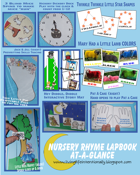 {FREE} Nursery Rhyme Lapbook