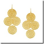Kenneth Jay Lane Gold Plated Earrings