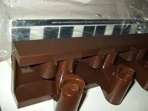 Brown Velca MiniVip coat rack with packaging 3