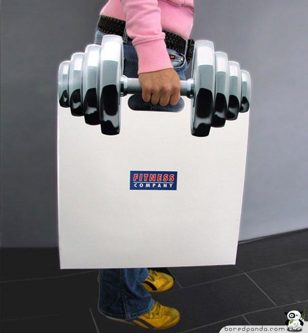Beg plastik angkat berat