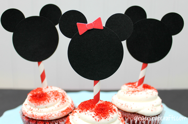 #monthofdisney #cupcake #toppers