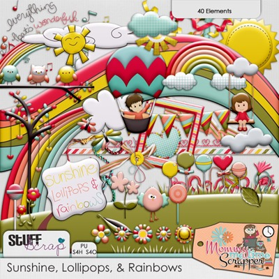 Sunshine, Lollipops & Rainbows - Elements
