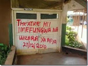 kufungwa