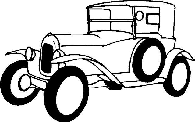 Como dibujar autos antiguos - Imagui