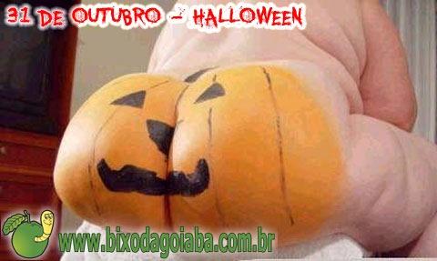 31 de outubro é Halloween (Dia das Bruxas): o Bixo da Goiaba adora uma travessura