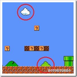 Sprites repetidas de Mario Bros