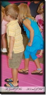 Fancy Nancy Party ~ Learning to curtsy {A Sprinkle of This . . . . A Dash of That}