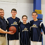 B – HLS Basketball Senior Night