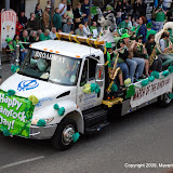 Dinger at Saint Patricks Day Parade 2009