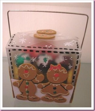Takeaway Box Gingerbread