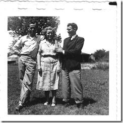 Jess Davis, Onene Littrell Curtis & Les Littrell